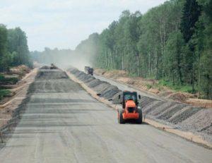 Строительство трассы М11