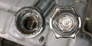 Накипь в системе охлаждения двигателя
