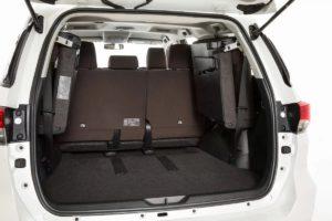 Тойота Фортунер багажник