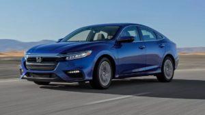 Хонда Инсайт 2019 синяя
