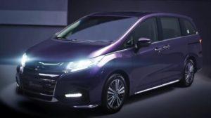 Хонда Одиссей 2019 фиолетовая