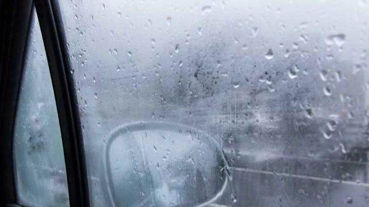 Потеют стёкла в машине