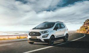 Форд ЭкоСпорт 2019 белый