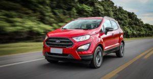 Форд ЭкоСпорт 2019 красный