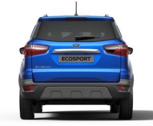 Форд ЭкоСпорт 2019 вид сзади