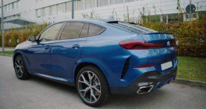 БМВ Х6 2020 синий