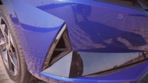Хендай Элантра 2021 вентиляционное отверстие