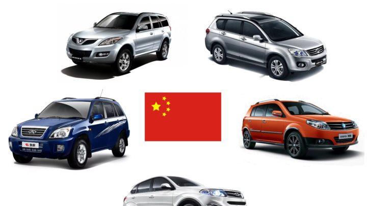 Китайские внедорожники и кроссоверы