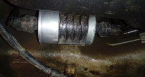 Замена топливного фильтра своими руками
