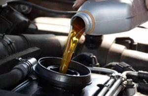 Объём масла в двигателе