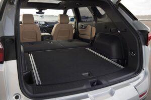 Шевроле Блейзер 2021 багажник