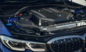 БМВ 3 серии 2021 двигатель